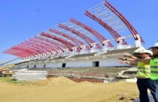 Tire'deki Stat İnşaatı Sürüyor