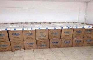Tokat'ta 4 Bin Paket Kaçak Sigara Ele Geçirildi