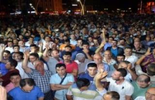 Tokat'ta Vatandaş Sokağa Döküldü