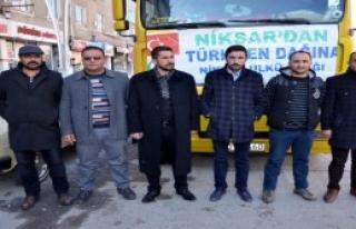 Tokat'tan Türkmenlere Yardım