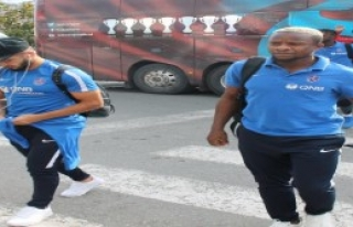 Trabzonspor, Çorum'a 8 Eksikle Gitti