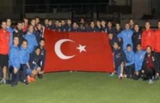 Trabzonspor Cumhuriyet Bayramı'nı Kutladı