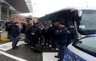 Trabzonspor İtalya'da