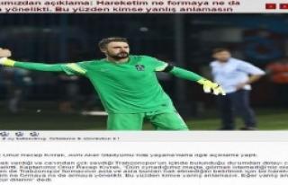 Trabzonspor Kaptanı Onur: Ben Bu Şehrin Evladıyım