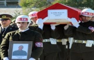 Şehit Asker İçin Tören Düzenlendi