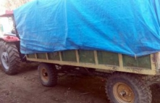 Traktör Römorkunda Sahte İçki İmalatı
