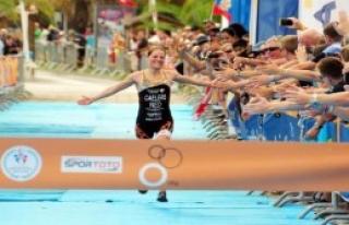 Triatlon Dünya Kupası Alanya'da Başladı