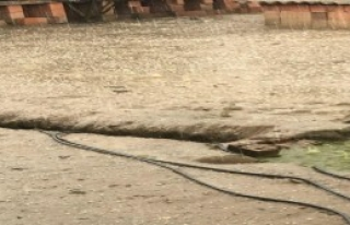 Turgutlu'da dolu yağışı