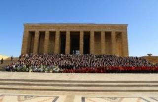 Türk Masonlarından Anıtkabir Ziyareti