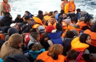Üç Günde Bin 361 Mülteci