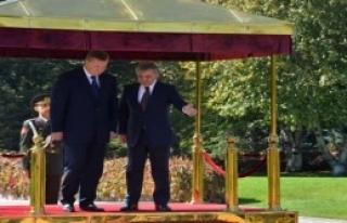 Ukrayna Devlet Başkanı Türkiye'de