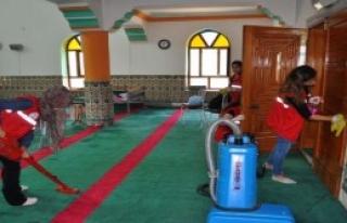 Üniversiteli Öğrenciler Köyü Temizledi