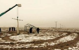 Van Gürpınar'a Elektrik Verildi