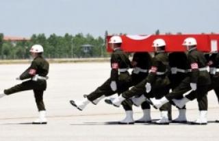 Şehit Asker, Törenle Uğurlandı
