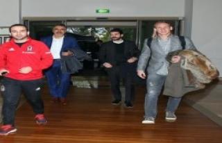 Vida, Beşiktaş Kampına Katıldı