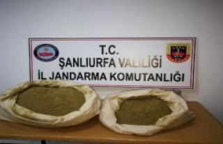 Viranşehir'de 25 Kilo Esrara 1 Tutuklama