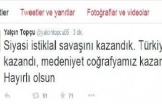 'Siyasi İstiklal Savaşını Kazandık'