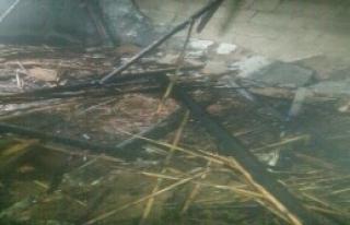 Yangında 5 Kişilik Aile Dumandan Etkilendi