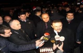 Altınok Taksim'i Bizzat Denetledi