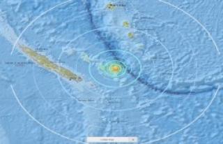 Yeni Kaledonya'da Deprem