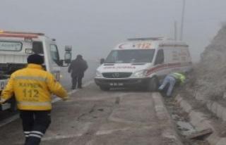 Kayseri'de Kazalar: 16 Yaralı