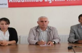Yüksekova'da Sandıkları Taşıma Kararı
