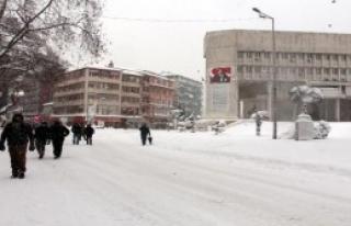 Zonguldak'ta Kar Hayatı Olumsuz Etkiledi