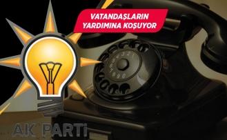 AK Parti İzmir, bir telefonun ucunda!