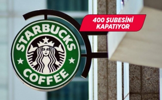 Starbucks 400 şubesini kapatıyor