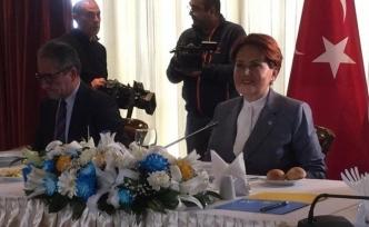 Akşener: Bizi parlamenter sisteme Erdoğan götürecek