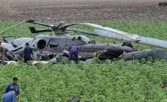 Kenya'da askeri helikopter düştü: 2 ölü