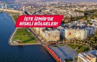 İzmir'in koronavirüs haritası güncellendi
