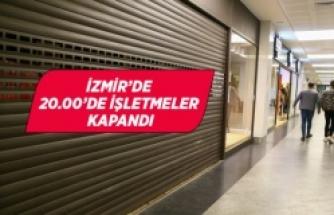 İzmir'de Kovid-19 kısıtlamaları başladı