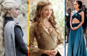 Game of Thrones'un en güzel saçları
