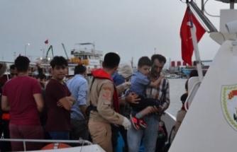 İzmir'de 1 günde 210 göçmen yakalandı