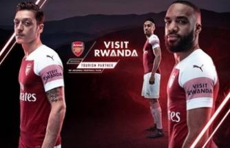 Ruanda, Arsenal'e sponsor oldu
