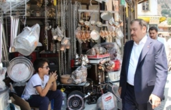 Bakan Eroğlu: İnce'nin yanında hekim bulunsa isabet olur