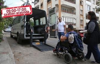 Buca'da yaşlı ve engelli vatandaşlara '24 Haziran' servisi!
