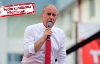 CHP'den İzmir'e, İnce için 'yetkili' talimatı