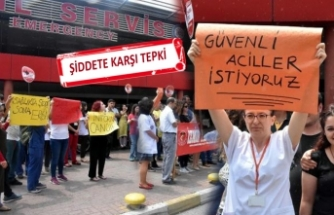 Doktora yapılan saldırı protesto edildi
