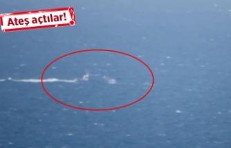 Ege Denizi'nde gerilim: Yunanistan'dan Türk kaptana ateş