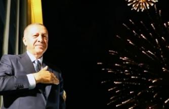 Erdoğan: Bu seçimin galibi demokrasidir