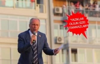 İnce'den İzmir mitingi sonrası flaş tweet!