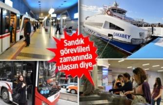 İzmir'de toplu ulaşıma seçim ayarı!