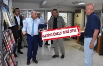 Kocaoğlu ve CHP İzmir, bir araya geldi