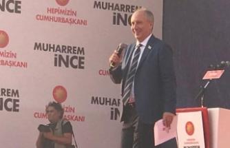 Muharrem İnce İzmir'de! Yoğun ilgi...