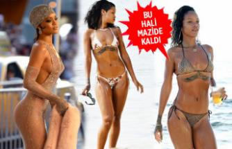 O artık bambaşka biri! İşte Rihanna'nın yeni giyim tarzı