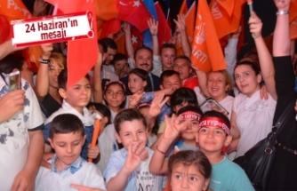 Şengül: Halkımız 5 yılın değil yüz yılın seçimini yapmıştır
