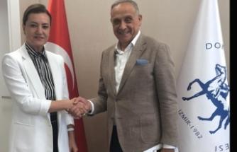Badem, Dokuz Eylül Üniversitesi Rektörünü ziyaret etti
