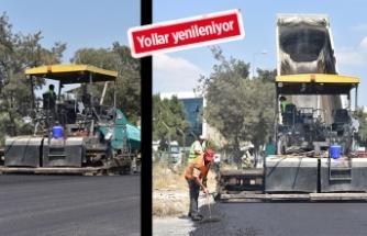 Bornova'ya i 40 bin ton asfalt